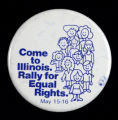 Come to Illinois. Rally for Equal Rights. May 15-16