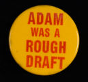 Adam Was A Rough Draft