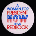 A Woman For President NOW says Redbook