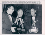 Ara Parseghian, Coach of the Year, with Awarded Coaches, 1965