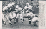 Ara Parseghian Playing for the Cleveland Browns