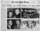 The news of the week in review: Racial crisis and Mississippi terrorin The New York Times, June...