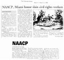 NAACP, Miami honor slain civil rights workersin The Cincinnati Enquirer, March 12, 1999