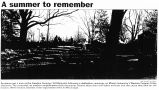 photograph, A summer to remember, in The Journal News, ca. 2000