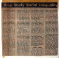 They Study Racial Inequality