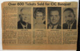 Over 600 Tickets Sold for CIC Banquet