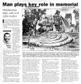 Man plays key role in memorial, Middletonian helps with Civil Rights markerfrom The Middletown...