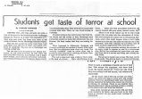 Students get taste of terror at schoolin the Newark Star-Ledger, 1964
