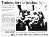 Training for the freedom fight: Activists recall Oxford programin The Cincinnati Enquirer, June...