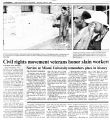 Civil rights movement veterans honor slain workersin The Cincinnati Enquirer, June 22, 1989