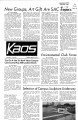 1972-04-25 - KAOS Student Newspaper -  April, 25, 1972