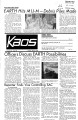 1972-05-09 - KAOS Student Newspaper -  May 9, 1972