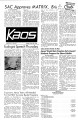 1972-05-23 - KAOS Student Newspaper -  May 23, 1972