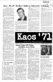 1971-09-28 - KAOS Student Newspaper -  September 28, 1971