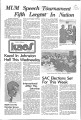1973-01-22 - KAOS Student Newspaper -  January 22, 1973