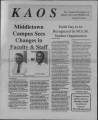 1993-03-24 - KAOS Student Newspaper - March 24, 1993