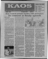 1994-04-01 - KAOS Student Newspaper - April 1, 1994