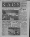 1993-10-11 - KAOS Student Newspaper - October 11, 1993