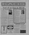 1991-09-01 - KAOS Student Newspaper - Fall 1991