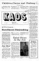 1978-10-20 - KAOS Student Newspaper -  October 20, 1978