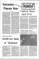 1976-04-13 - KAOS Student Newspaper -  April, 13, 1976