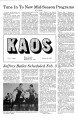 1979-01-19 - KAOS Student Newspaper -  January 19, 1979
