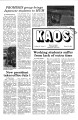 1981-03-05 - KAOS Student Newspaper -  March 5, 1981