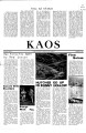 1967-10-06 - KAOS Student Newspaper -  October 6, 1967