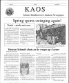 1999-04-30 - KAOS Student Newspaper -  April, 30, 1999