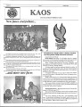 1999-10-01 - KAOS Student Newspaper -  October 1, 1999