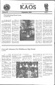 2000-09-01 - KAOS Student Newspaper -  September, 1, 2000