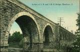 Arches of C. H. and I. R. R. Bridge