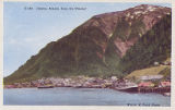 Juneau, Alaska, from the Channel