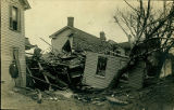 Destroyed House and Sycamore Tree