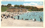 Bathing Beach at Edgewater Park