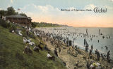 Bathing at Edgewater Park