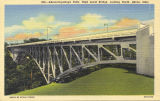 Akron-Cuyahoga Falls High Level Bridge, Looking North