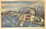 Bird's-Eye View of Great Lakes Exposition