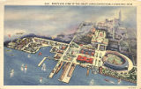 Bird's Eye View of Great Lakes Exposition