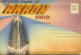 Souvenier Folder of Akron Ohio