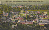 Aerial View of Main Campus Section, Alabama Polytechnic Institute