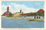 Lake Shore Bathing Beach and C. E. I. Power Plant