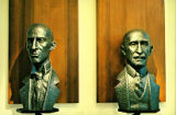 Busts of Wright Brothers