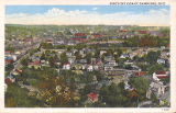 Bird's-Eye View of Cambridge, Ohio