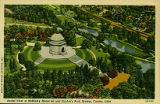 Aerial View of McKinley Memorial
