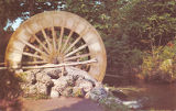 Water Wheel at the Blue Hole