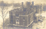 Hepburn Hall - Destroyed by Fire