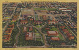 Air view of the University of Arizona