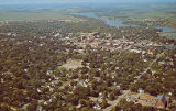 Aerial view of Alexandria, Minn.