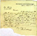 Correspondence from Braxton Bragg to Robert E. Lee, dated April 11, 1864